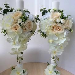Свадебные свечи и композиции - декоратор, флорист в Черновцах - фото 3