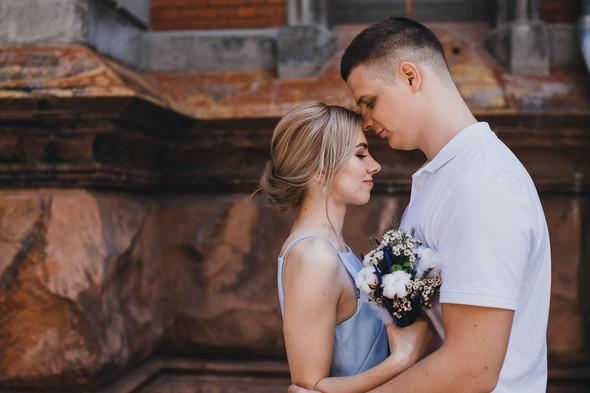 Wedding love story - фото №18