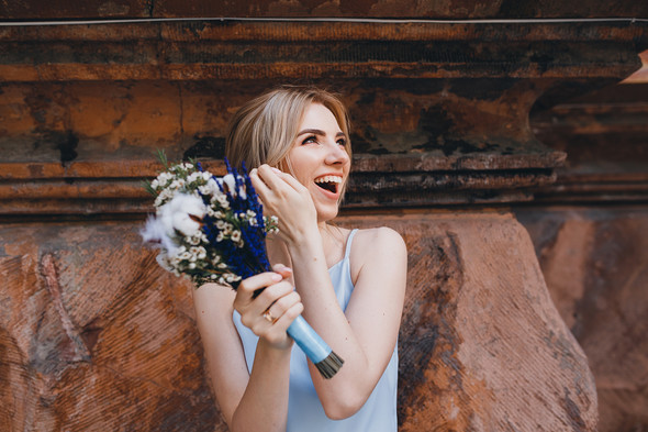 Wedding love story - фото №17
