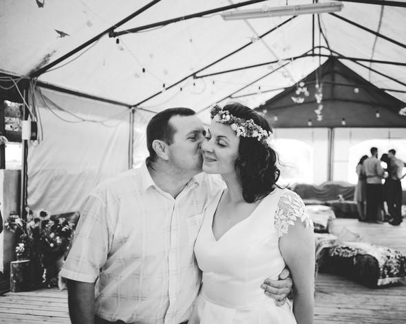 Теплая свадьба теплых людей - фото №23