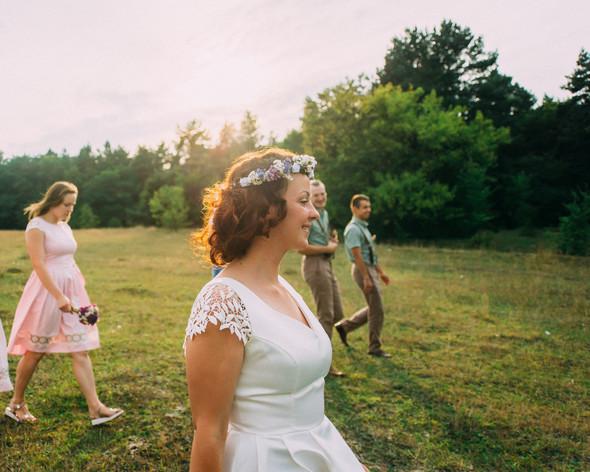 Теплая свадьба теплых людей - фото №14
