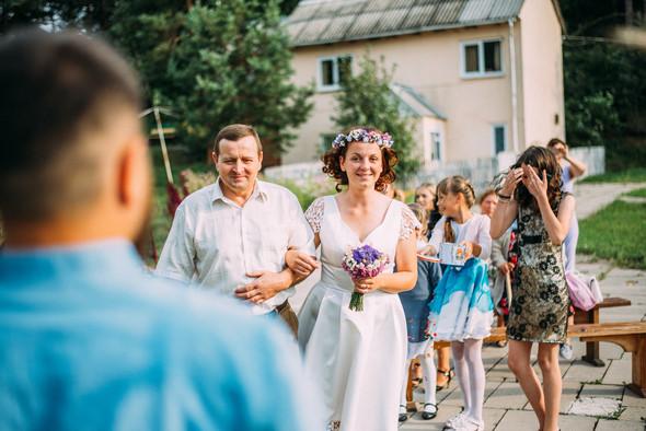 Теплая свадьба теплых людей - фото №3