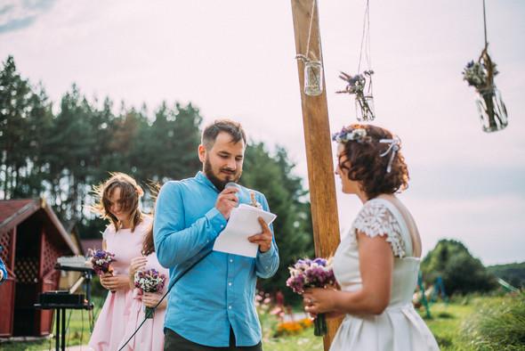 Теплая свадьба теплых людей - фото №6