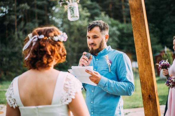 Теплая свадьба теплых людей - фото №7