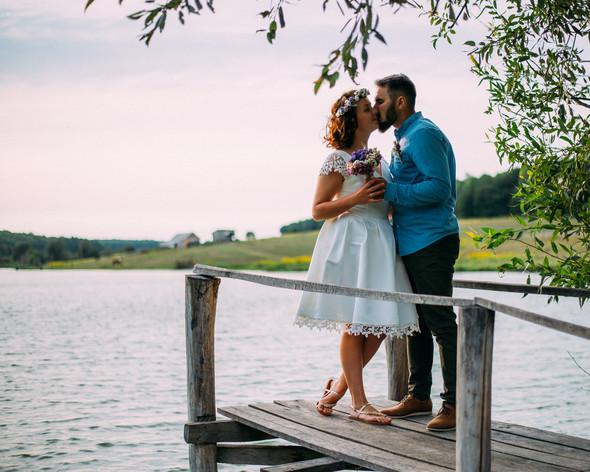 Теплая свадьба теплых людей - фото №19
