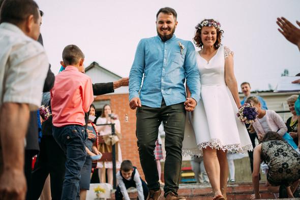 Теплая свадьба теплых людей - фото №22