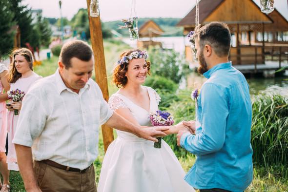 Теплая свадьба теплых людей - фото №4