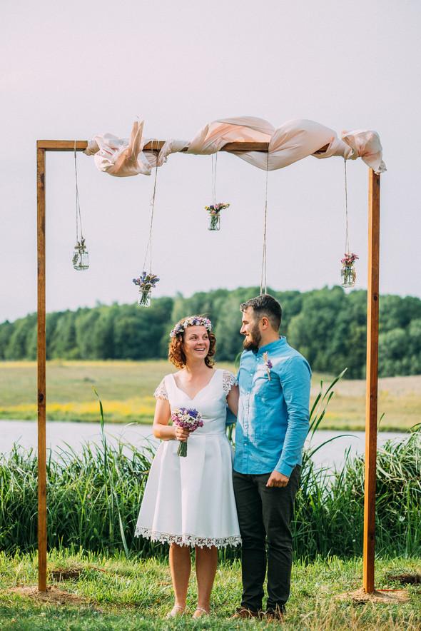 Теплая свадьба теплых людей - фото №8