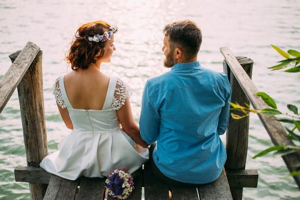 Теплая свадьба теплых людей - фото №17