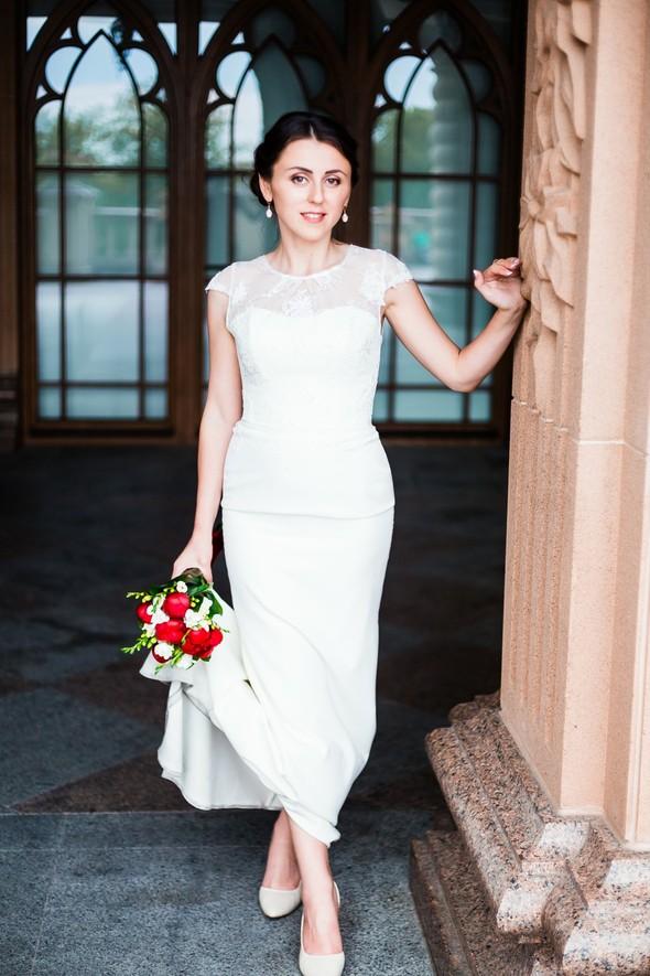 Свадебная прогулка Тани и Вовы - фото №18