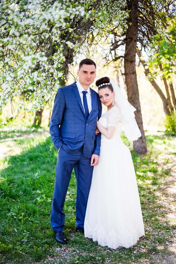 Свадебный день Кати и Дениса - фото №12