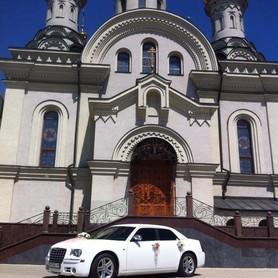 Свадебный Chrysler 300С белый, заказ авто - авто на свадьбу в Донецке - портфолио 3