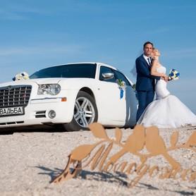 Свадебный Chrysler 300С белый, заказ авто - авто на свадьбу в Донецке - портфолио 2