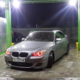 BMW 530i e60 - авто на свадьбу в Днепре - портфолио 1