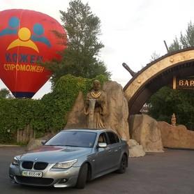 BMW 530i e60 - авто на свадьбу в Днепре - портфолио 2