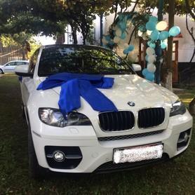 BMW X6 Біла - авто на свадьбу в Хусте - портфолио 5
