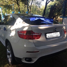 BMW X6 Біла - авто на свадьбу в Хусте - портфолио 6