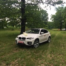 BMW X6 Біла - авто на свадьбу в Хусте - портфолио 2