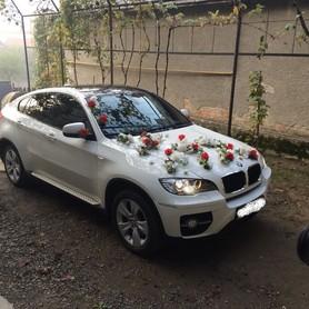 BMW X6 Біла - авто на свадьбу в Хусте - портфолио 1