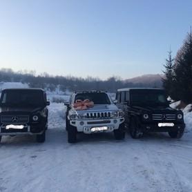 Hummer H3 Білий - авто на свадьбу в Хусте - портфолио 3