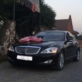 Mercedes S-class Чорна і біла - авто на свадьбу в Хусте - портфолио 2