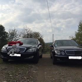 Mercedes S-class Чорна і біла - авто на свадьбу в Хусте - портфолио 5
