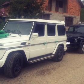 Mercedes G-class (кубик) Чорний і Білий - авто на свадьбу в Хусте - портфолио 5