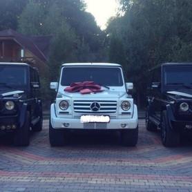 Mercedes G-class (кубик) Чорний і Білий - авто на свадьбу в Хусте - портфолио 3
