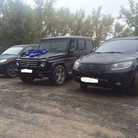 Mercedes G-class (кубик) Чорний і Білий - авто на свадьбу в Хусте - портфолио 4