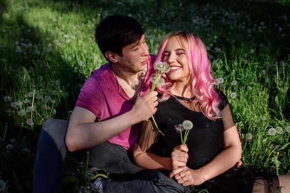 Love Story Алина и Максим - фото №7