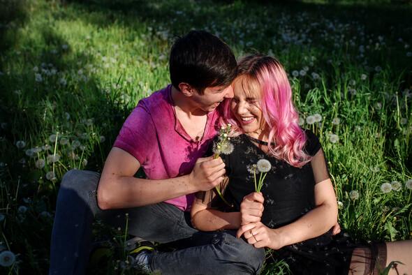 Love Story Алина и Максим - фото №8