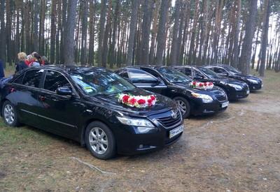 Сергей Свадебный Кортеж прокат Авто на свадьбу Toyota Cam - фото 2