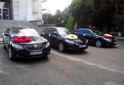 Сергей Свадебный Кортеж прокат Авто на свадьбу Toyota Cam - фото 3