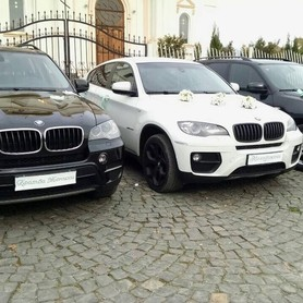 BMW X6 Біла & X5 чорні - авто на свадьбу в Хусте - портфолио 2