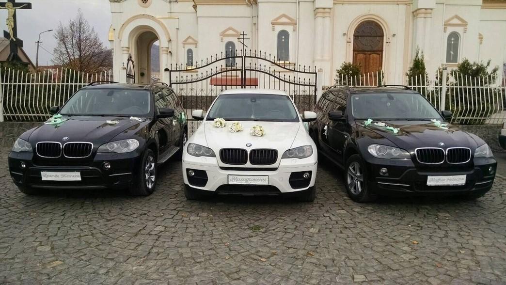BMW X6 Біла & X5 чорні