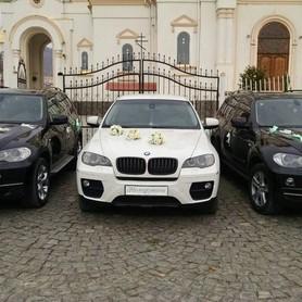 BMW X6 Біла & X5 чорні - авто на свадьбу в Хусте - портфолио 3