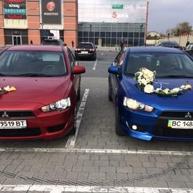 Mitsubishi Lancer X - авто на свадьбу в Львове - портфолио 1
