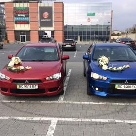 Mitsubishi Lancer X - авто на свадьбу в Львове - портфолио 3