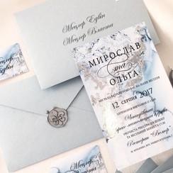 Cute Script - пригласительные на свадьбу в Львове - фото 4