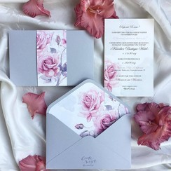 Cute Script - пригласительные на свадьбу в Львове - фото 2