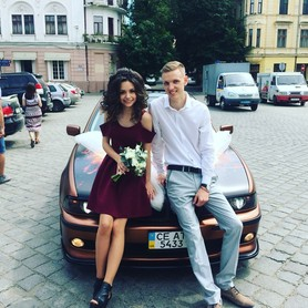 BMW e39 - авто на свадьбу в Черновцах - портфолио 4