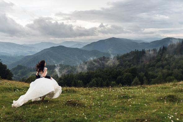Весільна зйомка в горах для Клюши та Дениса - фото №54