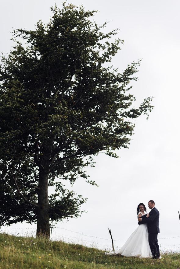 Весільна зйомка в горах для Клюши та Дениса - фото №41