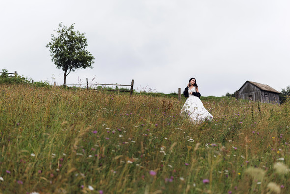 Весільна зйомка в горах для Клюши та Дениса - фото №36