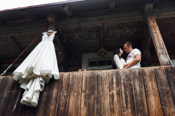 Весільна зйомка в горах для Клюши та Дениса - фото №4