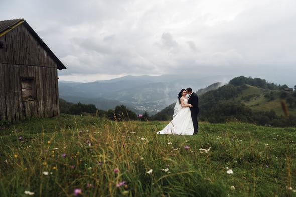 Весільна зйомка в горах для Клюши та Дениса - фото №18