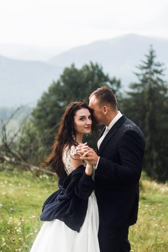 Весільна зйомка в горах для Клюши та Дениса - фото №48