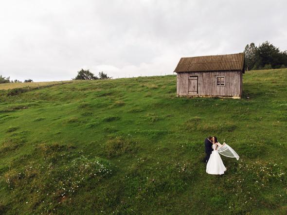 Весільна зйомка в горах для Клюши та Дениса - фото №12