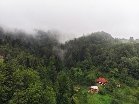 Весільна зйомка в горах для Клюши та Дениса - фото №1