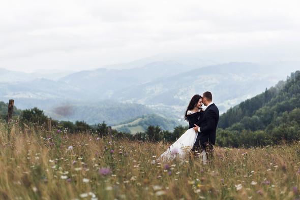 Весільна зйомка в горах для Клюши та Дениса - фото №35